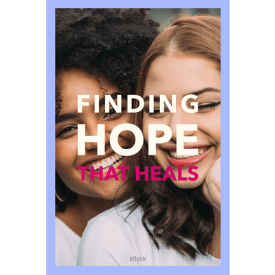 Finding Hope That Heals Ebook - Sappy ~Inspo~ Tees