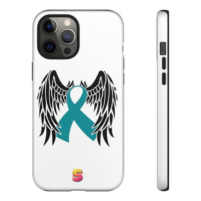 Cervical Cancer Survivor Tough Phone Cases - Sappy ~Inspo~ Tees