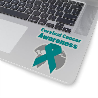 Cervical Cancer Awareness Kiss-Cut Stickers - Sappy ~Inspo~ Tees
