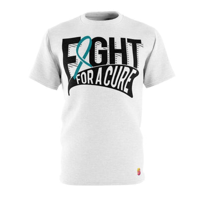 Fight For A Cure Cervical Cancer Awareness Unisex Tee - Sappy ~Inspo~ Tees