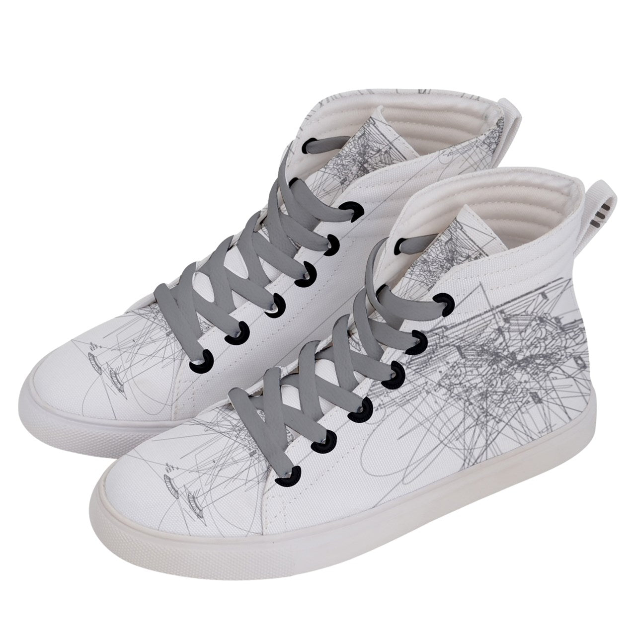Taikkun Men's Hi-Top Skate Sneakers (Kun series)
