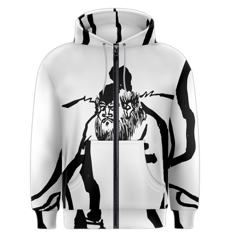 Taikkun Men's Zipper Hoodie (Kui Series)