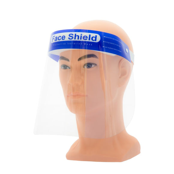 Protective Plastic Face Shield (10 Pack)