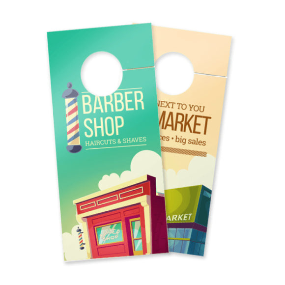 Door Hangers - 14pt + Matte Finish