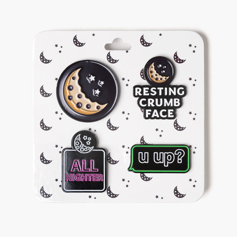 Stick a Pin In It Enamel Pin Set