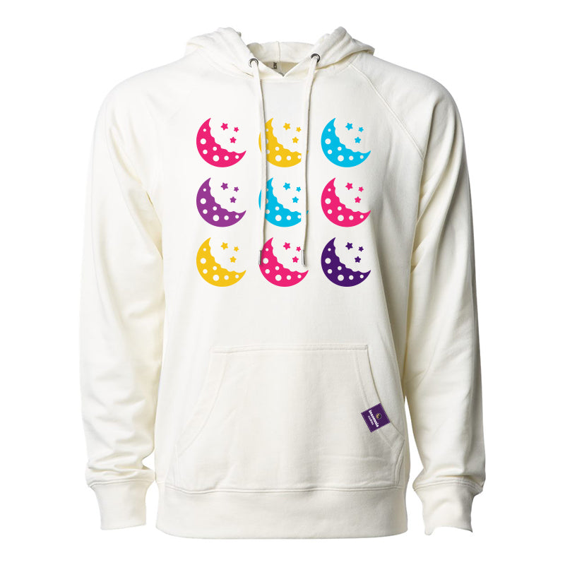 Pop Art Cookie Moon Hoodie