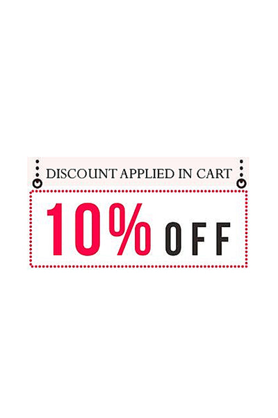 SAVE 10% NOW - DISCOUNT APPLIED IN SHOPPING CART