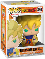 DRAGON BALL Z - POP FUNKO VINYL FIGURE 860 SS GOKU (FIRST APPEARANCE) 9CM