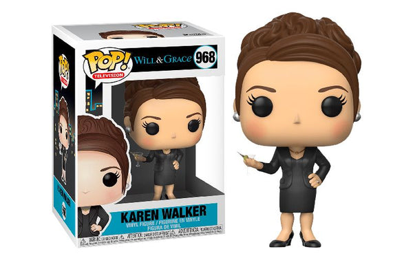 WILL & GRACE - POP FUNKO VINYL FIGURE 968 KAREN WALKER 9CM