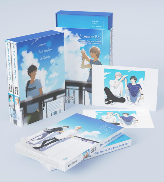 BLUE SUMMER BOX