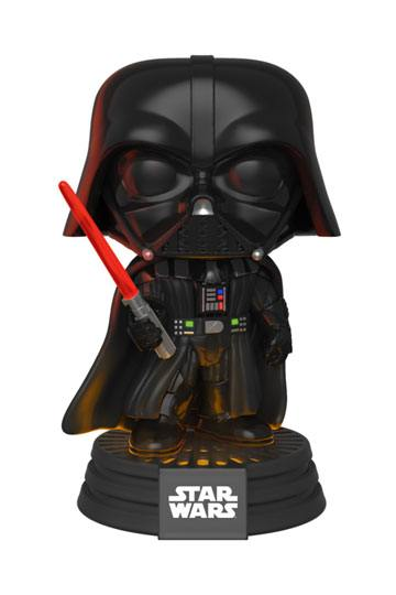 Star Wars Electronic POP! Movies Vinyl Figure 343 with Sound & Light Up Darth Vader 9 cm