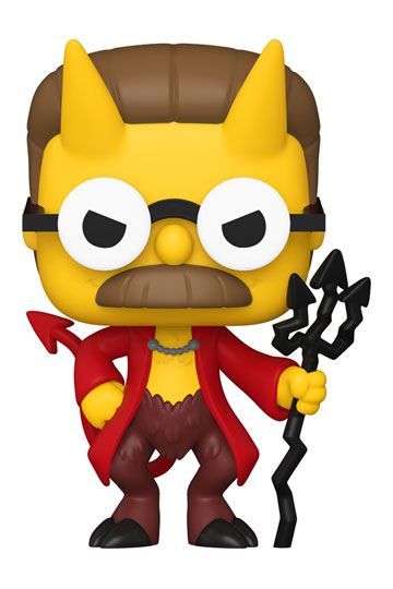 Simpsons POP! Animazione Vinyl Figure Devil Flanders 9 cm