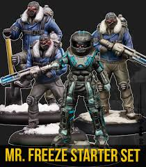 BATMAN MINIATURE GAME - MR. FREEZE CREW