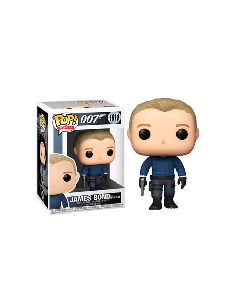 007: JAMES BOND - POP FUNKO VINYL FIGURE 1011 JAMES BOND (NO TIME TO DIE) 9CM