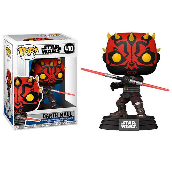STAR WARS: CLONE WARS - POP FUNKO VINYL FIGURE 410 DARTH MAUL 9CM