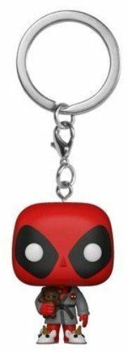 DEADPOOL - POP FUNKO VINYL KEYCHAIN BEDTIME DEADPOOL (IN ROBE) EXCLUSIVE 4CM