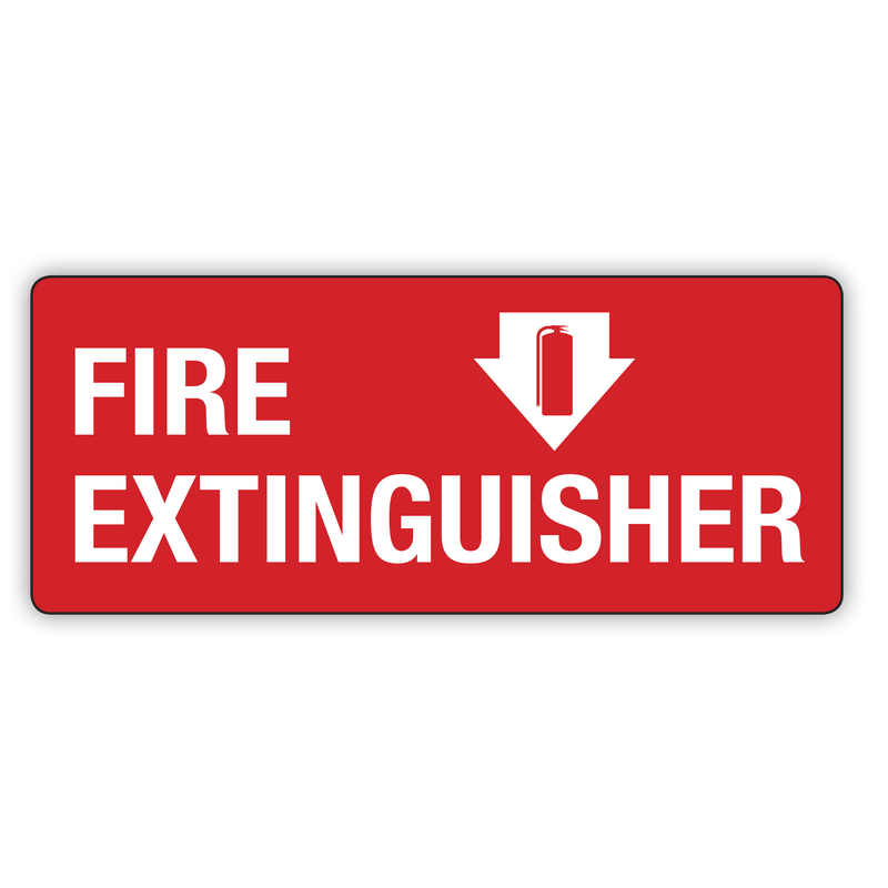 FIRE EXTINGUISHER DOWN ARROW