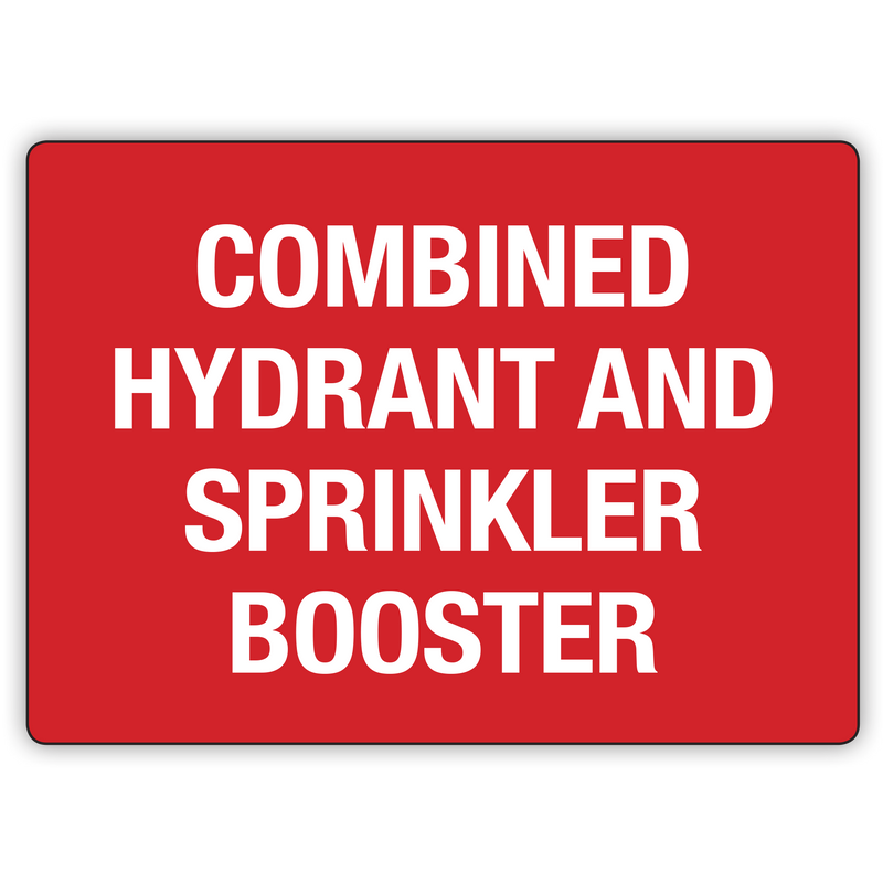 COMBINED HYDRANT AND SPRINKLER ROOM