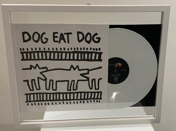 "KEITH HARING VINYLE - ""DOG EAT DOG"" 33 Tours - 2011"