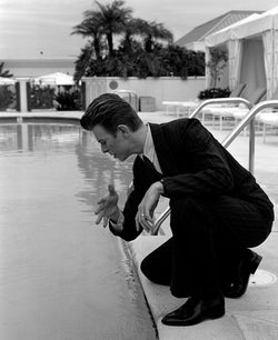 Michel Haddi - David Bowie Pool, Los Angeles