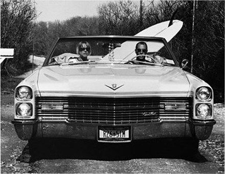 Michael Dweck - David and Pam in their Caddy, Trailer Park