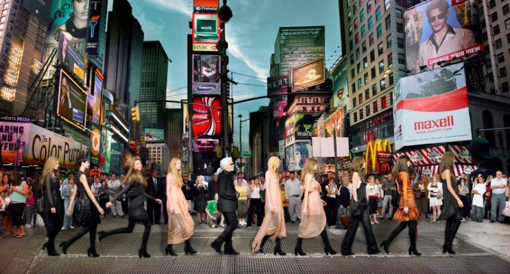 Simon Procter - Lagerfeld Time Square NYC 2006