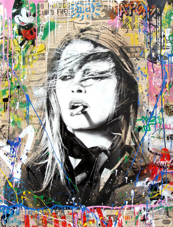 Mr. Brainwash - Brigitte Bardot