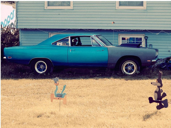 Hugh Lippe - Blue Car