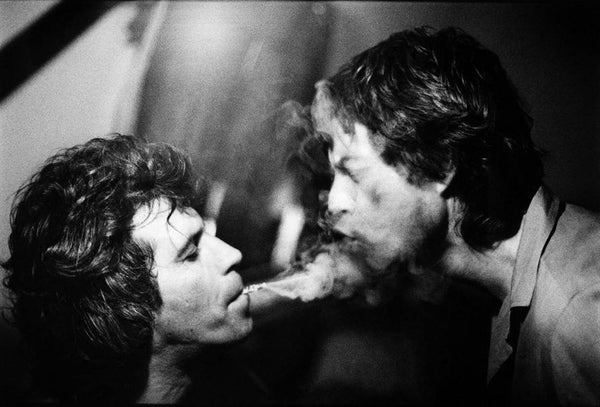 Arthur Elgort - Keith Richards and Mick Jagger