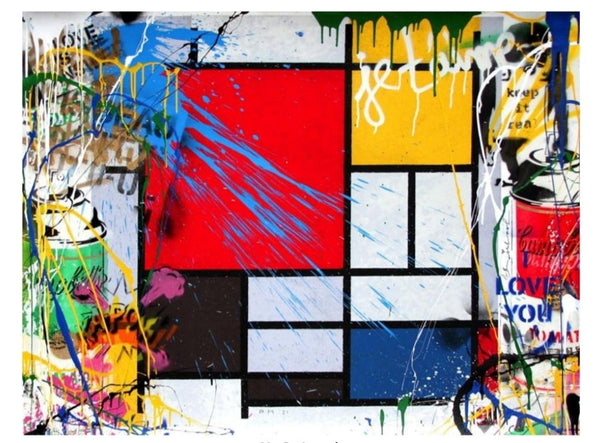 Mondriart - Mr. Brainwash