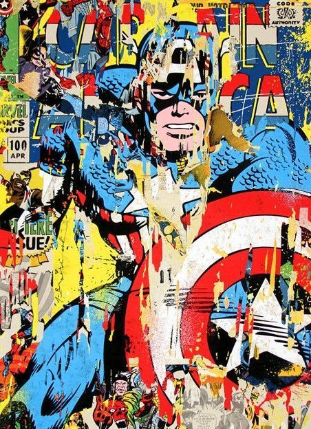 Mr. Brainwash - Captain America
