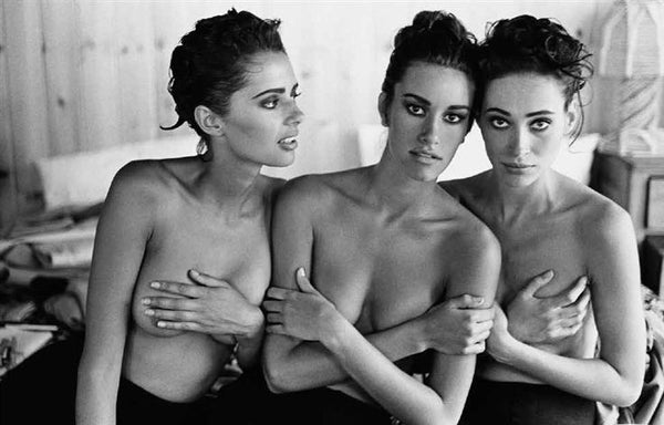 Arthur Elgort - Heather Whyte, Susan Holmes and Irene Pfeiffer