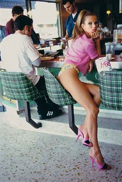 Arthur Elgort - Kate Moss, LA, Vogue