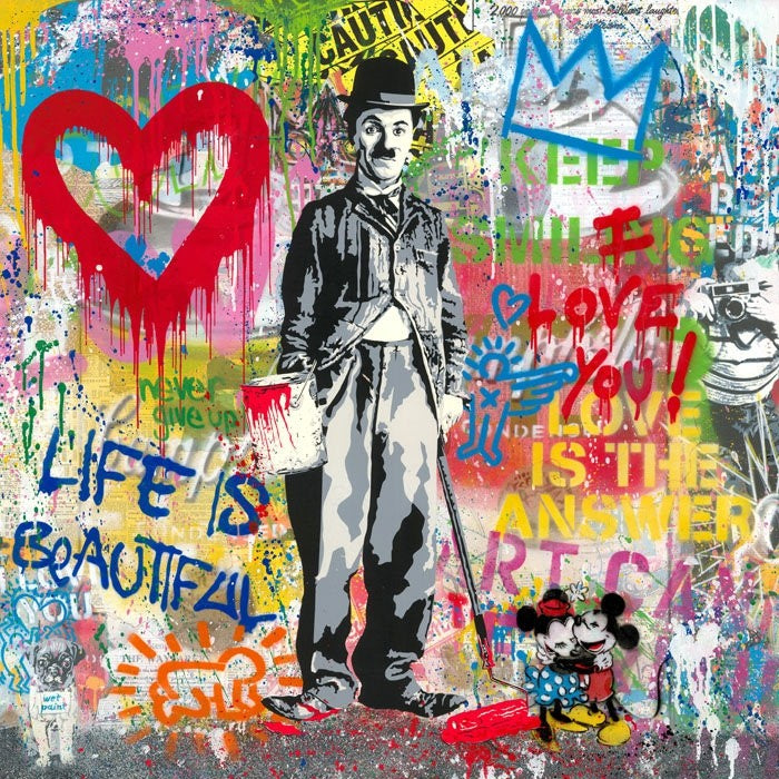 Mr. Brainwash - Chaplin, 2020