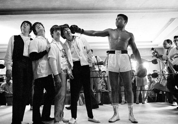 Charles Trainor - Muhammad Ali & Les Beatles , Miami Beach 1964