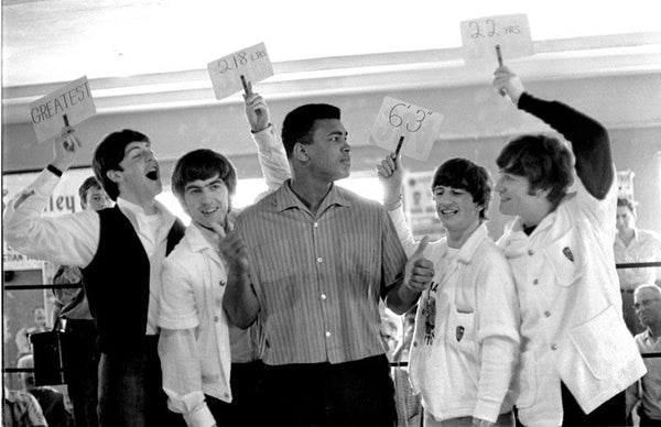 Charles Trainor - Muhammad Ali & Les Beatles #2 , Miami Beach 1964