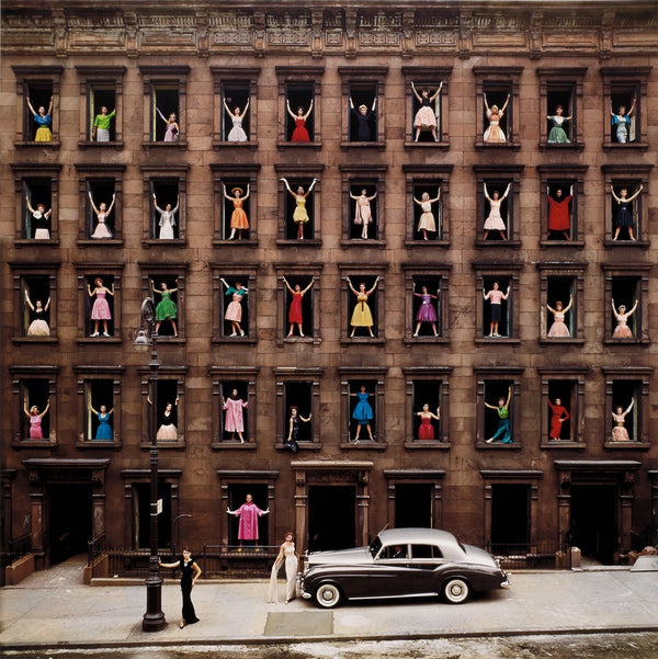 "Ormond Gigli - ""Girls in the Windows, New York City"" 1960"