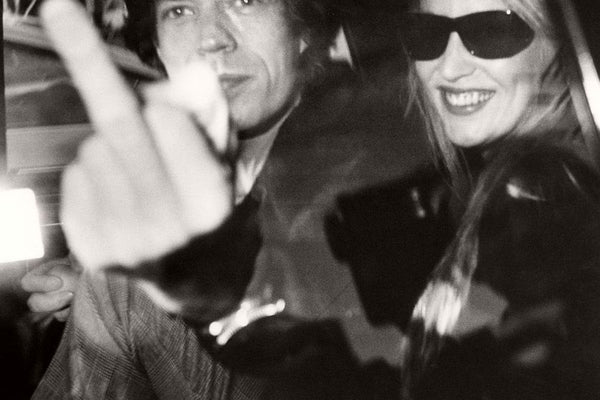 Ron Galella - Mick Jagger & Jerry Hall 1983