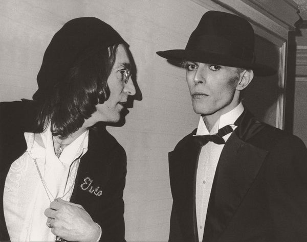 Ron Galella - John Lennon & David Bowie, Grammy Awards 1975 1975