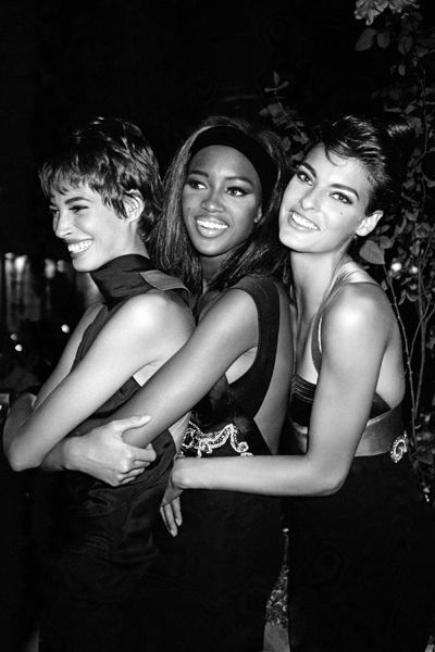 Roxanne Lowit - Three Super Models at the Ritz