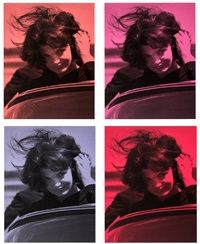 Russell Young - Jackie Kennedy - Portofolio de 4 tirages