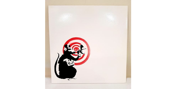 "BANKSY VINYLE - ""Dirty Funker Future Radar Rat"" 33 Tours - 2008"