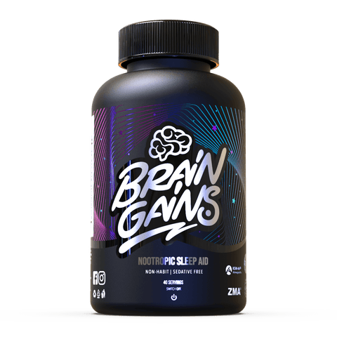 Brain Gains Black Edition Sleep Aid