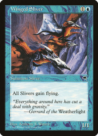 Winged Sliver [Tempest]