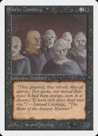 Scathe Zombies [Unlimited Edition]