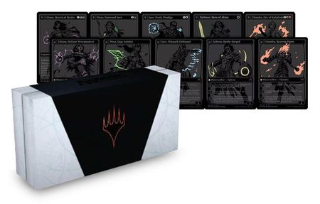 MAGIC: THE GATHERING SDCC 2015 Box-Set (Set of Five Planeswalkers) - Book Included