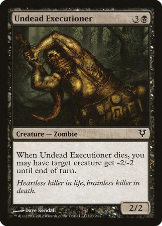 Undead Executioner [Avacyn Restored]
