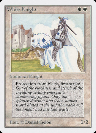 White Knight [Unlimited Edition]