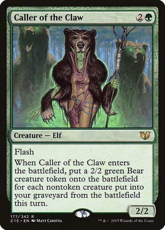Caller of the Claw [Commander 2015]