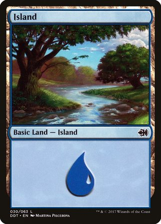 Island (30) [Duel Decks: Merfolk vs. Goblins]